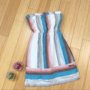 Billabong strapless casual summer dress, S/M.